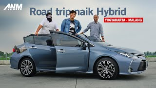 Toyota Corolla Altis HEV | ROADTRIP AutonetMagz feat. Motomobi & Fitra Eri Otodriver