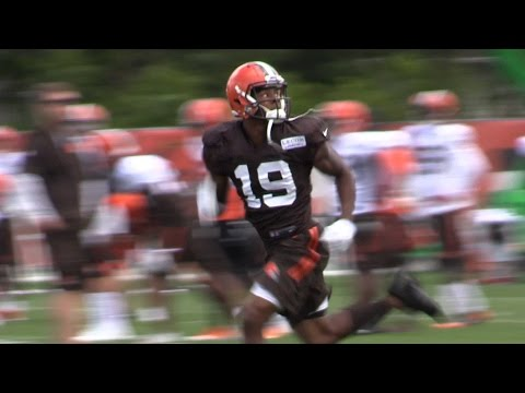 Terrelle Pryor, Josh Gordon and Corey Coleman together at last for Cleveland Browns