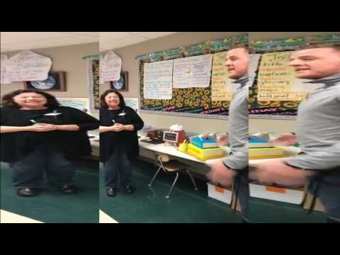 JJ Watt Gives 4th Grade Teacher Surprise Retirement Party