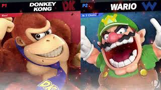 Square Up #2 Winners Semis: Magebreaker (Donkey Kong) Vs.  3 Chainz (Wario)
