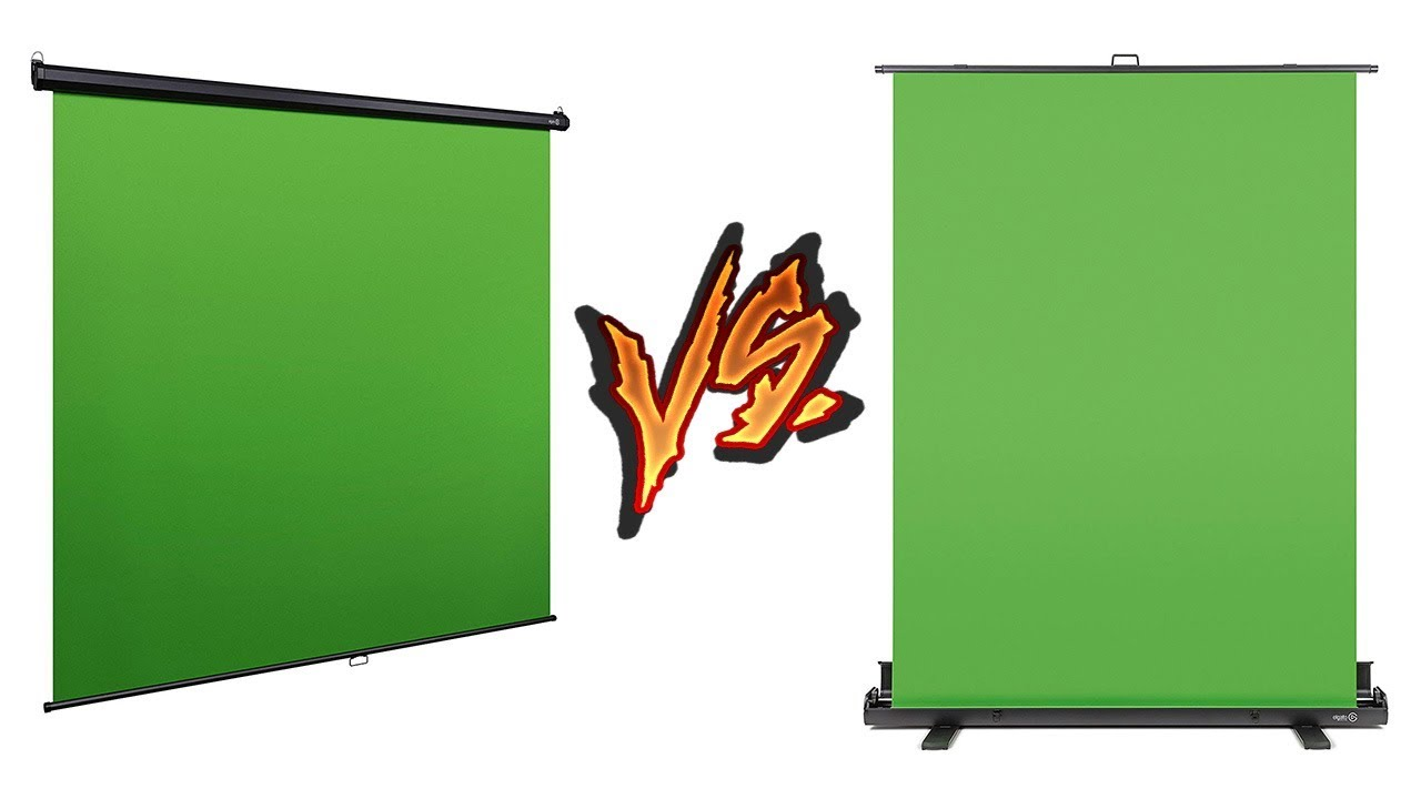 Elgato Green Screen Comparison | Collapsible or Ceiling🤔