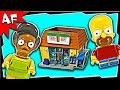 Lego Simpsons KWIK E-MART 71016 Stop Motion Build Review