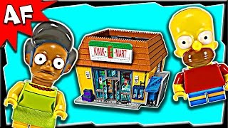 lego simpsons kwik e mart 71016 stop motion build review