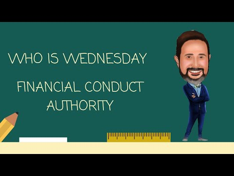 Who is the Financial Conduct Authority