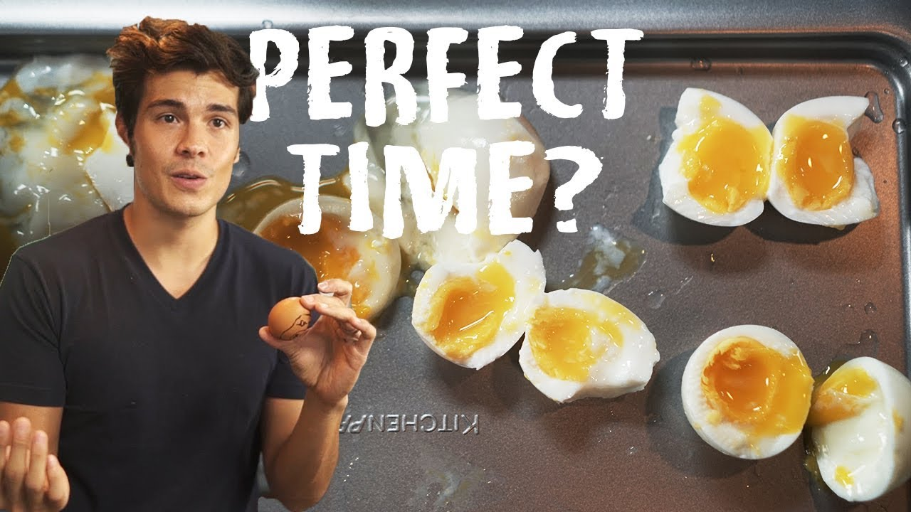 how to cook soft boiled eggs youtube