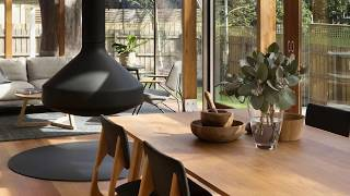 Suburban Home in Melbourne Charms with Awesome Brick Walls