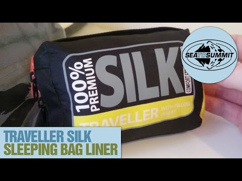 "Sea To Summit: ""Traveller"" Silk Sleeping Bag Liner Review"