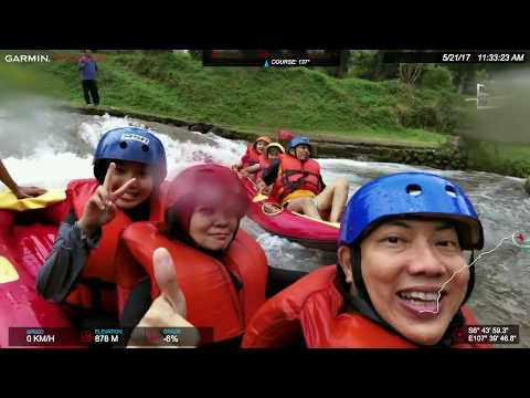 White warm water rafting @ Ciater Spa Resort