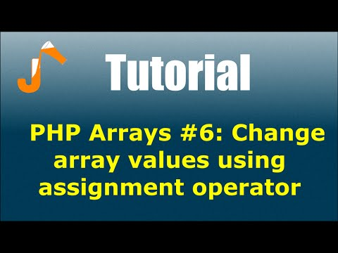Php array assignment