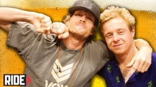 Pat Duffy & Jake Duncombe: Balls, Unicycles, Gonz & More Balls! Weekend Buzz ep. 35