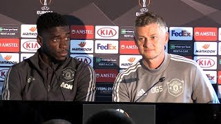 Ole Gunnar Solskjaer & Axel Tuanzebe Pre-Match Press Conference - Man Utd v FC Astana -Europa League