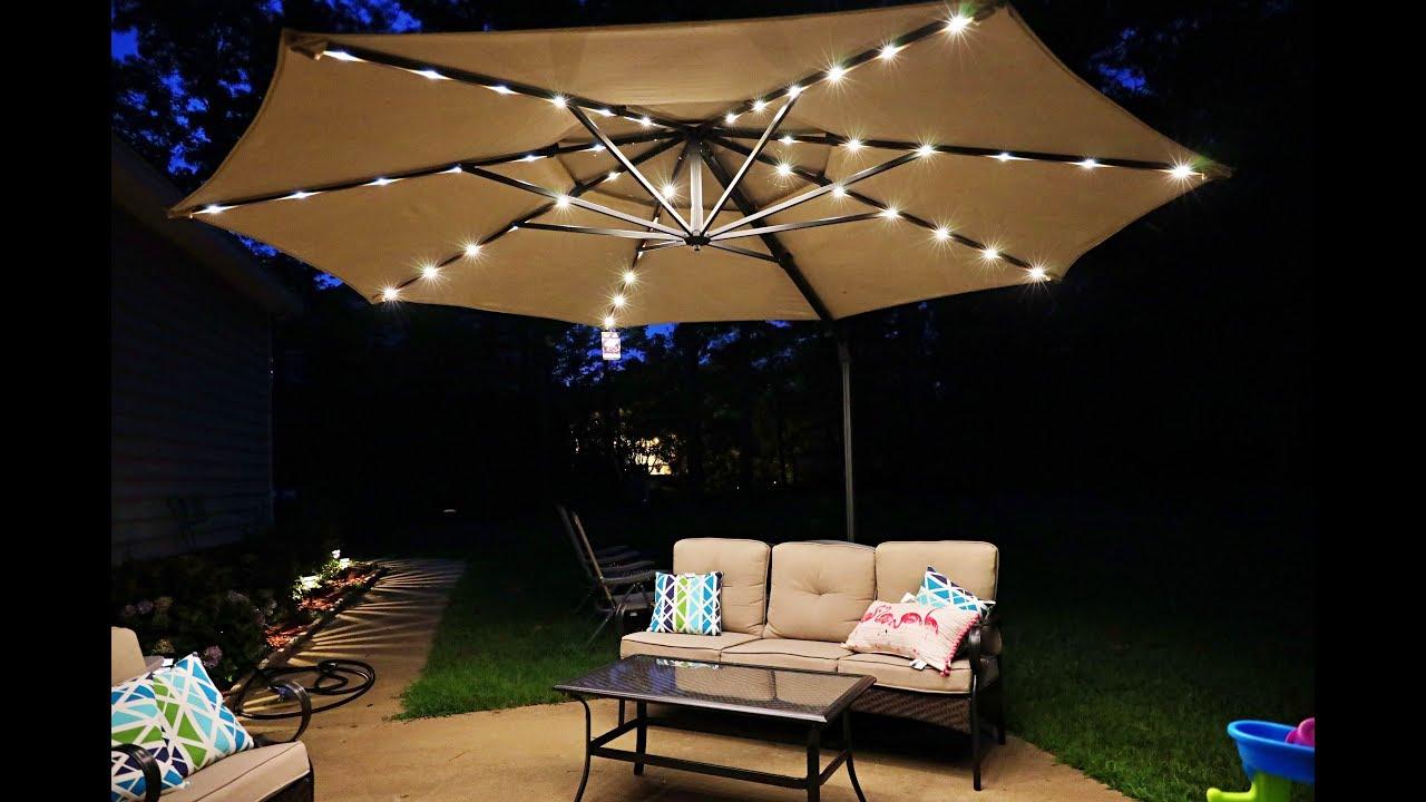 simplyshade 11ft cantilever outdoor umbrella best patio umbrella period