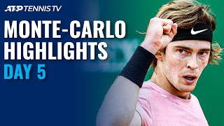 Djokovic Faces Evans; Nadal Plays Dimitrov | Monte-Carlo 2021 Highlights Day 5