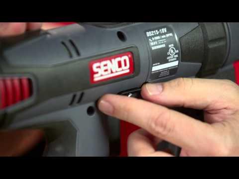 Senco Screw Gun -- DuraSpin Features & Benefits - YouTube