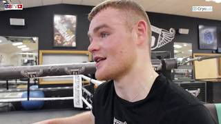 BRETT MCGINTY TALKS ABOUT MOVING TO HATTONS GYM AND HIS PRO DEBUT