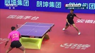 2016 China Super League: XU Xin Vs ZHOU Kai [Full Match/Chinese|HD1080p]