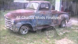 Video S10 Chassis swap for 51 Chevy Truck: tear down and Mock up 4-24-2012 download MP3, 3GP, MP4, WEBM, AVI, FLV Desember 2017