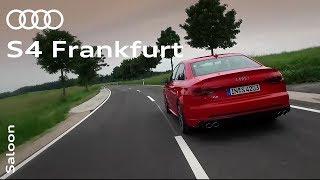The Audi S4: Frankfurt Press Launch