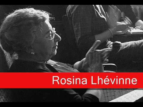 Rosina Lhévinne: Mozart - Piano Concerto No. 21 in C Major, 'Allegro vivace assai' K. 466