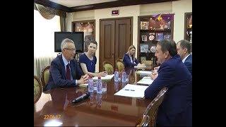 Посол Новой Зеландии встретился с главой Сочи Анатолием Пахомовым
