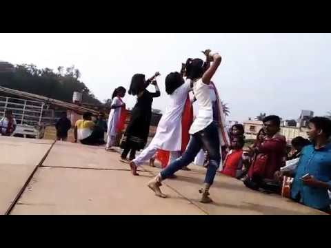 Sambalpuri Dance practice by Kids