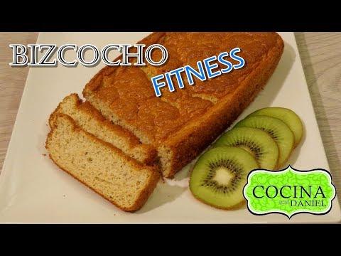 Bizcocho fitness COCINA CON DANIEL