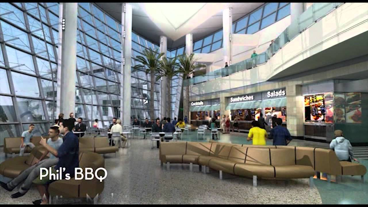 the green build terminal 2 expansion at san diego international