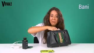 Ce ascunde Nicole Cherry in geanta!