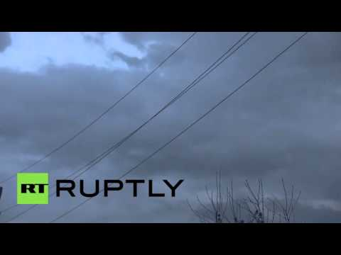Nagorno-Karabakh: Shelling dominates Martakert skyline as deadly clashes rage on