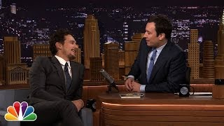 James Franco and Jimmy Fallon Talk Cowbell During Commercial Break thumbnail
