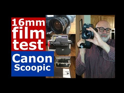 Canon Scoopic 16mm Film Camera Overview