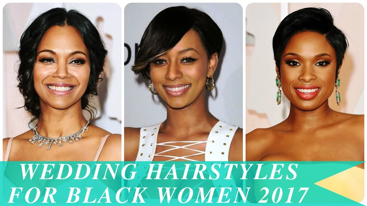Wedding Hairstyles For Black Women 2017