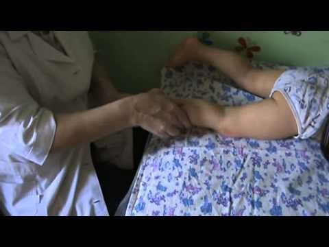 Детский массаж ног