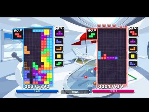 [puyo puyo tetris] tee broke the game. i broke the game. |
