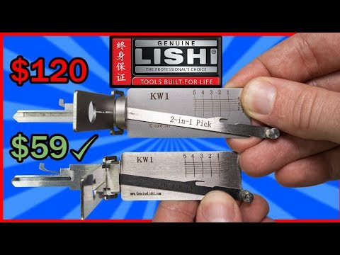 [388] $59 Genuine Lishi vs $120 Original Lishi | Is The Cheaper One Worth It?