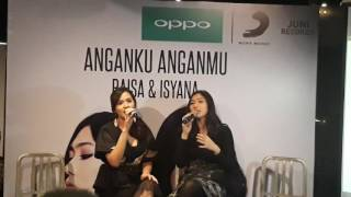 "Video Raisa dan Isyana Duet Singel Terbaru ""Anganku Anganmu"" download MP3, 3GP, MP4, WEBM, AVI, FLV Agustus 2017"