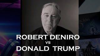 Robert De Niro vs Trump SUB ESPAÑOL COMPLETO UNCENSORED GOES OFF rips into