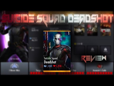 Deadshot Review! Injustice Gods Among Us 2.11! IOS/Android