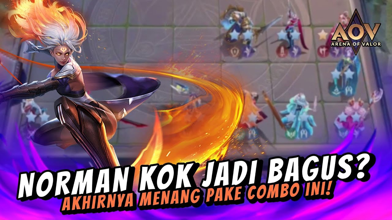 AMILY ⭐️⭐️⭐️ | COMBO NORMAN JADI BAGUS? - Carano Chess AOV Indonesia