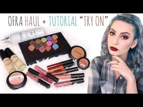 """OFRA Haul + Tutorial """"Try On"""""""