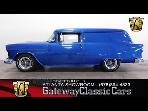 1955 Chevrolet Sedan Delivery - Gateway Classic Cars of Atlanta #389