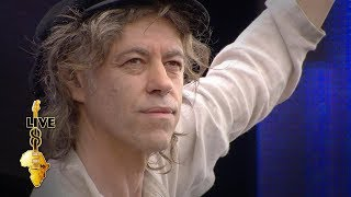Bob Geldof - I Don't Like Mondays (Live 8 2005)