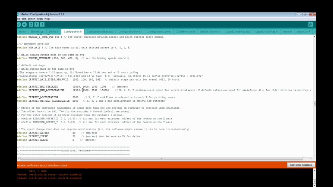 Ramps 1 4 Marlin Config Youtube Reprap 14 Wiring Nwreprapcom