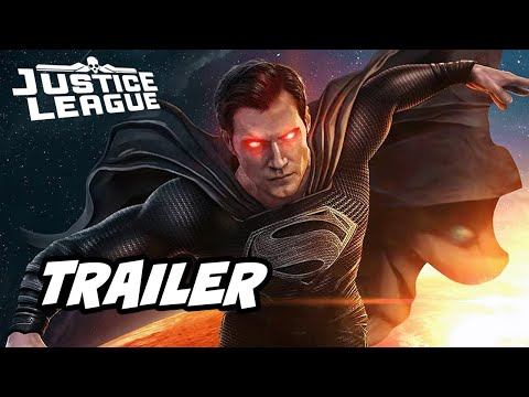 Justice League Snyder Cut Trailer – New Batman Superman Theme Music Clip and Easter Eggs