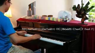 [ Piano cover + Hòa âm ] Gửi anh xa nhớ  - Bích Phương | Piano cover by Nguyen Huyen Vu