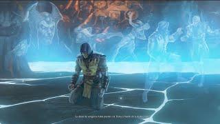 Mortal Kombat X Finales Historia SUB-ZERO & SCORPION + Fatalities Ending MK10