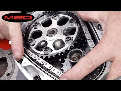 How to fit the MED billet aluminium timing cover