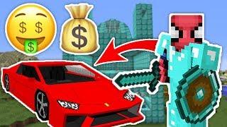 ZENGİN VS FAKİR ÖRÜMCEK ADAM #12 - Zengin'in Yeni Arabası (Minecraft) Video