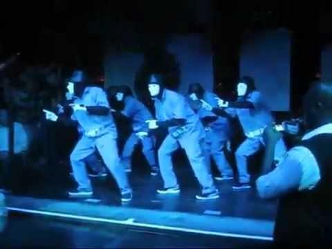 Jabbawockeez - JET Performance,Лучшие танцоры мира...Это круто
