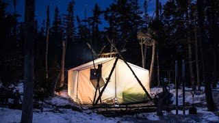 A Cold Winter's Journey in a Hot Tent | Part 2